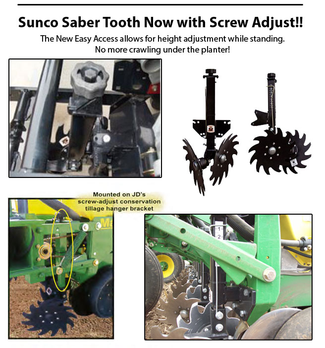 Sunco Saber Tooth Now with Screw Adjust