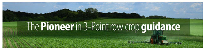 Acuratrak - The Pioneer in 3-Point row crop guidance